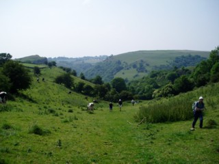 Staffordshire walk with the Sutton Rambling Club